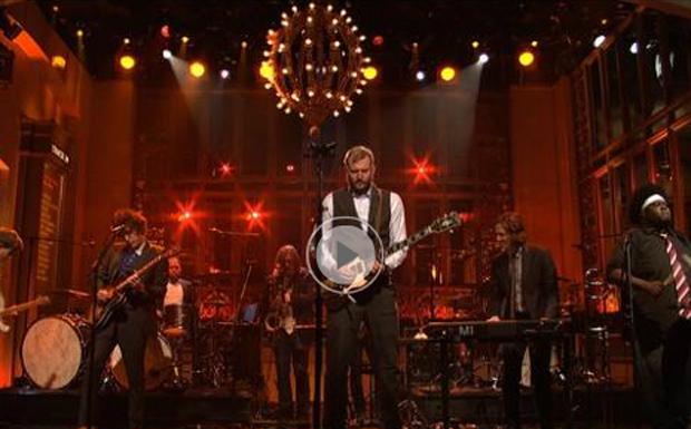 Bon Iver bei Saturday Night Live