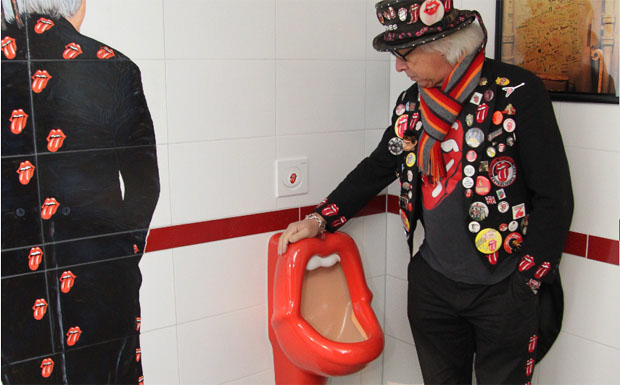Rolling Stones Urinal