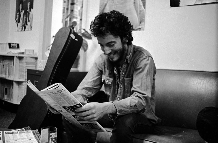 Bruce Springsteen bei den Session zu 'The Darkness' am 01.01.1970