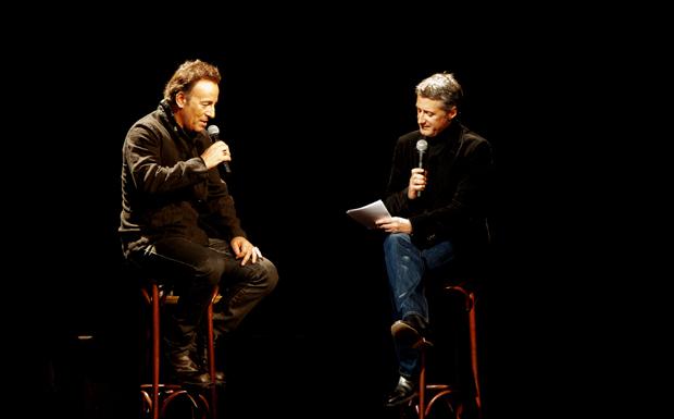 Bruce Springsteen bei der Albumpräsentation von 'Wrecking Ball' in Paris