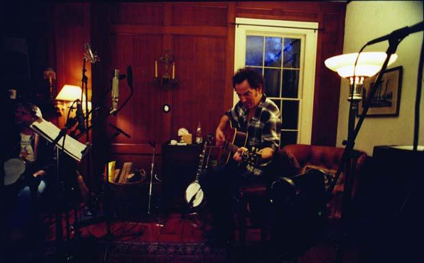 Bei den Aufnahmen zu 'We Shall Overcome - The Seeger Session'