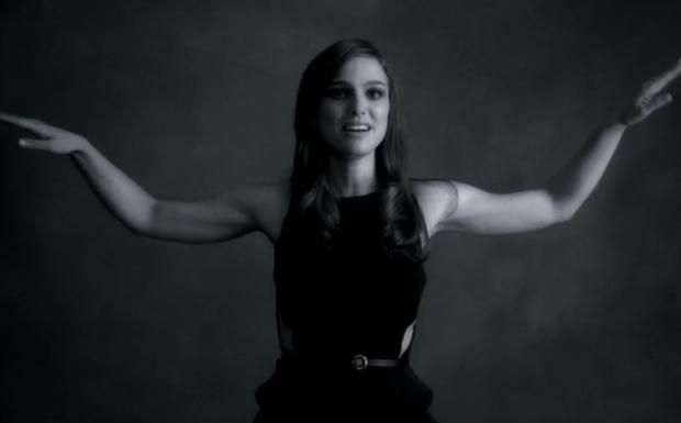 Natalie Portman in Paul McCartneys Video zu 'My Valantine'