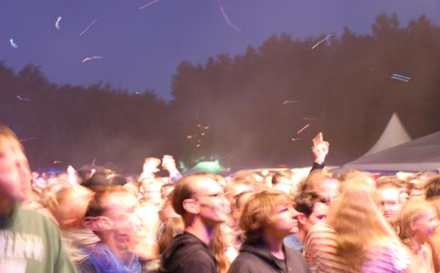 Das Immergut 2012 bei Nacht