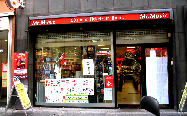 Mr. Music, Maximilianstr. 24 in 53111 Bonn