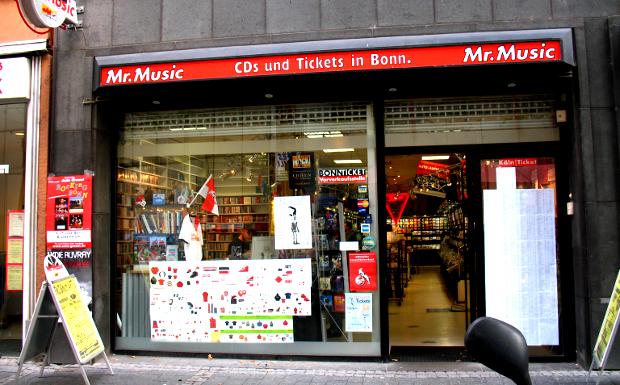 Mr. Music, Maximilianstr. 24 in 53111 Bonn