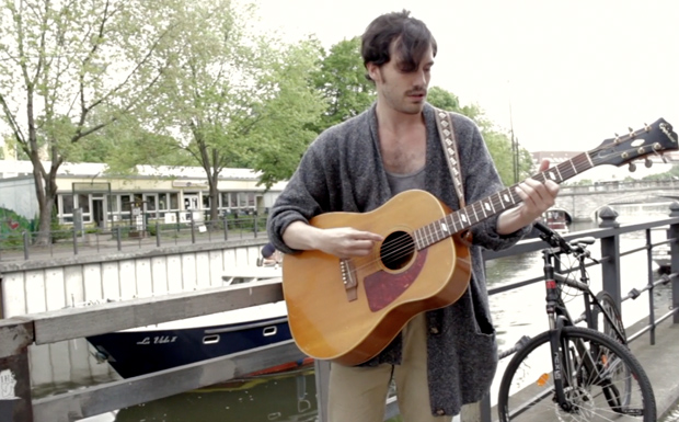 Robert Francis bei der ROLLING STONE Session