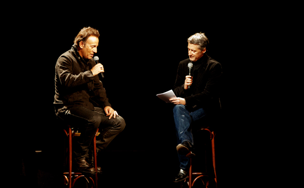 Bruce Springsteen bei der Albumpräsentation von 'Wrecking Ball' in Paris