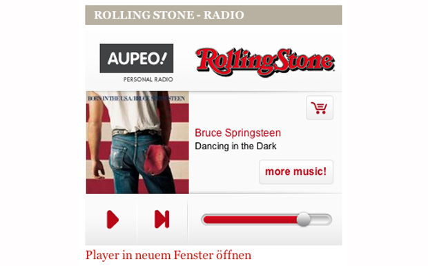 Das Rolling Stone-Radio