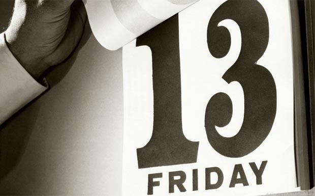 Das gefürchtete Datum: Freitag, der 13.