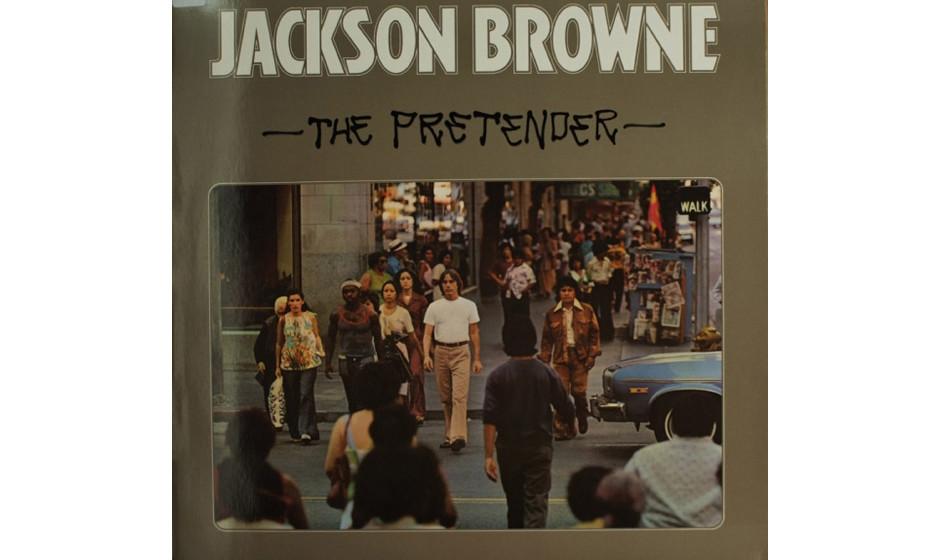88. 'The Pretender' - Jackson Browne (Asylum, 1976) Allein die Tatsache, dass sich Browne nach dem Selbstmord seiner Ehefrau