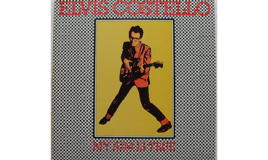 95. 'My Aim Is True' - Elvis Costello (1977, Stiff) 82 Sekunden 'Welcome To The Working Week' reichten, um 1977 die Ankunft e