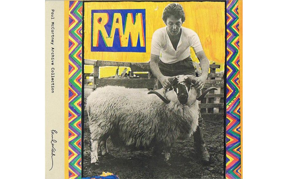 40. Ram - Paul McCartney (Apple/EMI, 1971) Beleidigt ob der öffentlichen Schmähung, zieht Paul McCartney sich mit Gattin Li