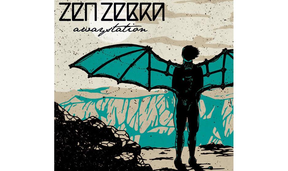 Zen Zebra - 'awaystation' (45rec.)Reden wir nicht über Cover und Bandname - die hätten, nun ja, besser kö