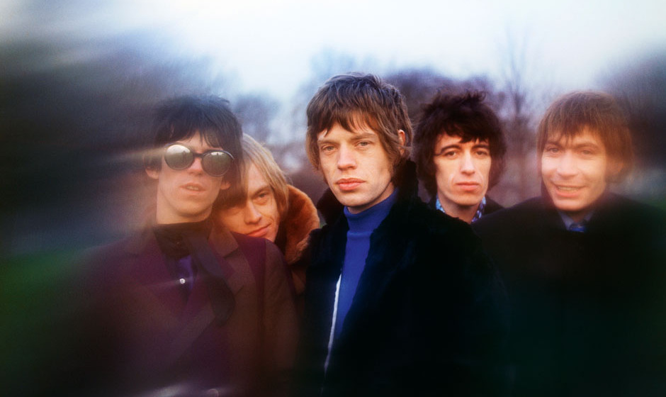 One of the out-takes from the session for the Between The Buttons album that was released in 1967. The original cover shot wa