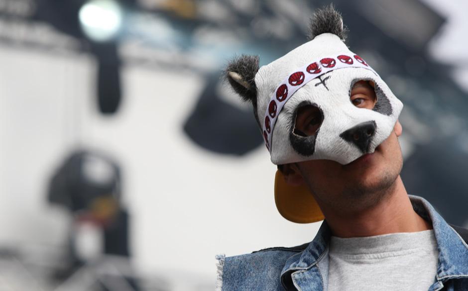 Schau mir in die Panda-Augen, Kleines!