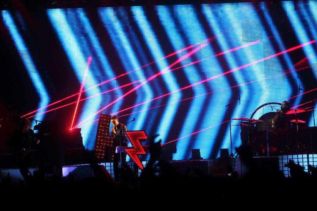 Tolles Licht: Die Killers auf dem Berlin Festival.