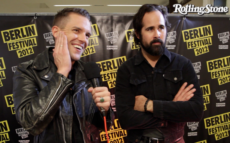Brandon Flowers und Ronnie Vannucci im Interview mit rollingstone.de