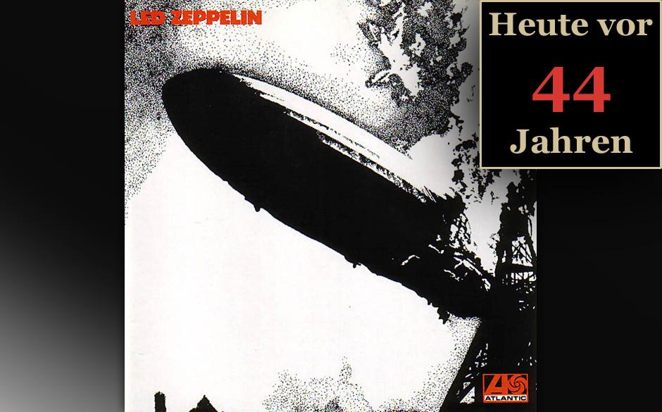 Am 17. Januar 1969 erschien das Led-Zeppelin-Debüt 'I'.