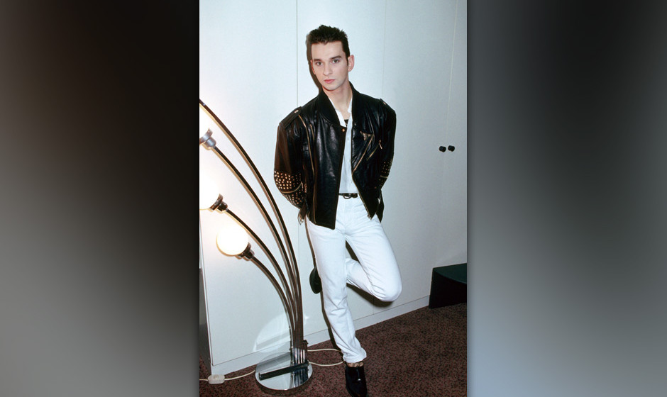 Portrait of Dave Gahan of Depeche Mode photographed in the mid 1980's. (Photo by Alastair Indge/Photoshot/Getty Images)