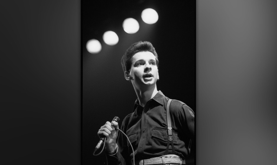 UNSPECIFIED - CIRCA 1980:  Singer Dave Gahan of Depeche Mode  (Photo by David Corio/Michael Ochs Archives/Getty Images)
