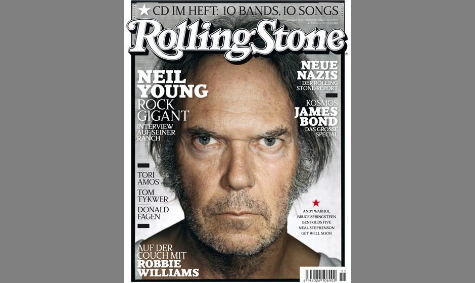 Bitte nicht lächeln! Auf dem Cover: Neil Young.