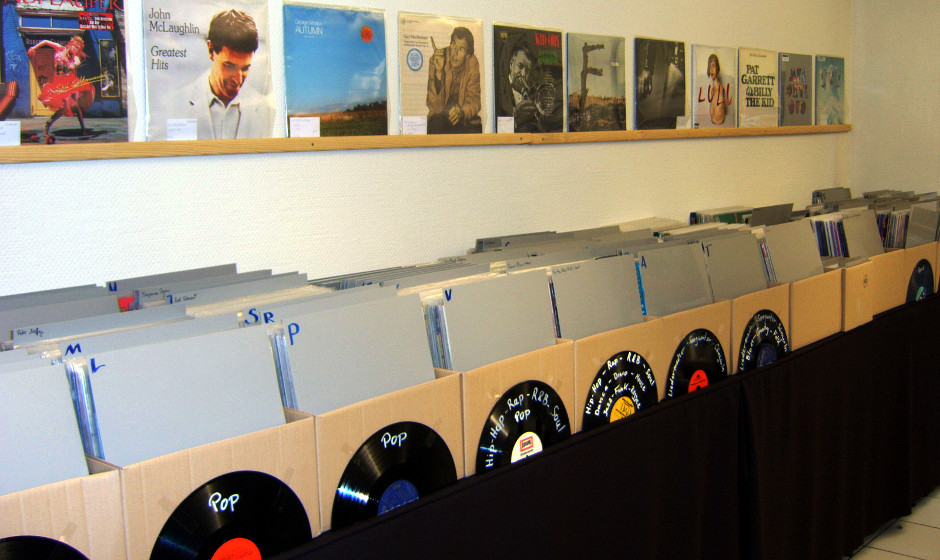 Vinyl and Coffee