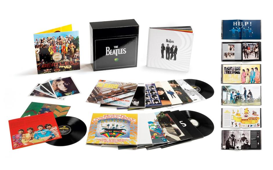 Diese üppige Beatles-Box erscheint am 09.11. Auf rollingstone.de können Sie diese gewinnnen, wenn sie in der Zeit vom 09. b
