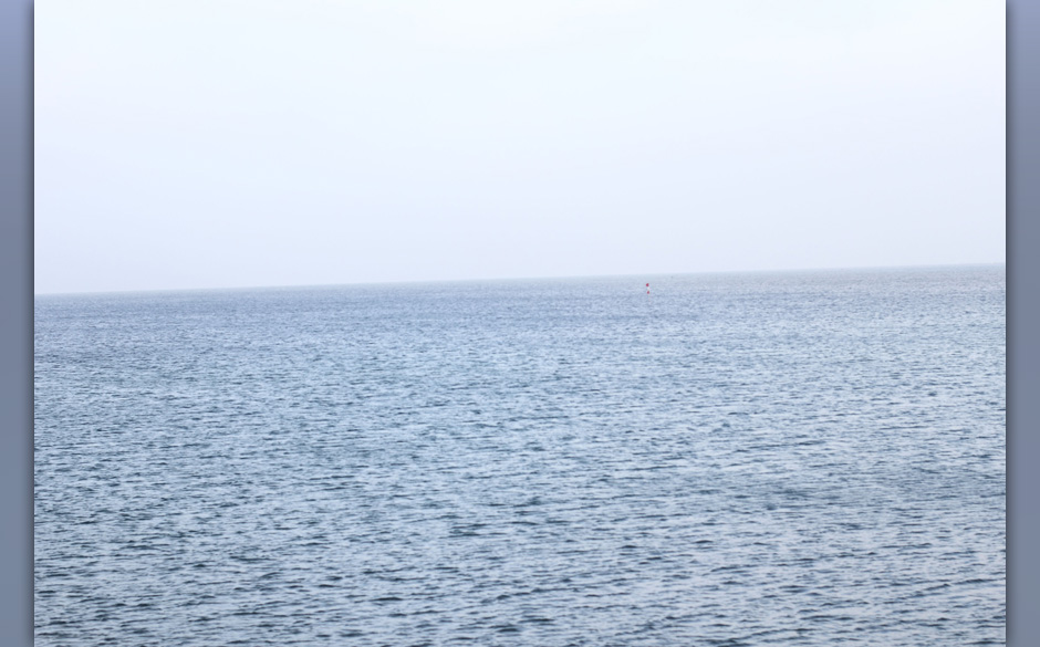 'Tschuldigung, wo geht's zum Meer?