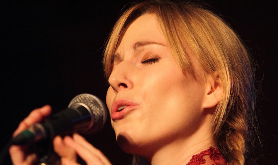 Eröffnete das Musikprogramm am Samstag im Rondell: Jacqueline Blouin.