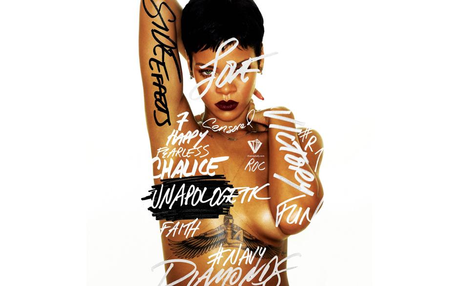 Rihanna - 'Unapologetic' (Def Jam/UID/Universal) Rihanna ist momentan auf großer Promotour für ihr neues Album, auf dem sie