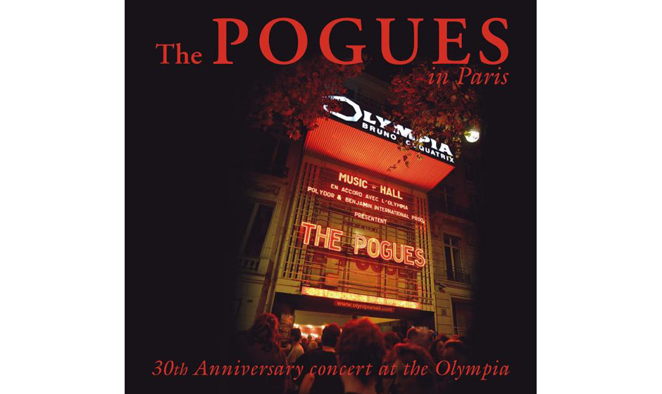 The Pogues - 'The Pogues In Paris - 30th Anniversary Concert' (Polydor/Universal) Das Jubiläumskonzert der Pogues in Paris.