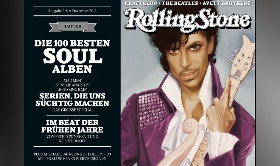 Diesmal gibt es gleich vier Cover. Hier ist Prince zu sehen