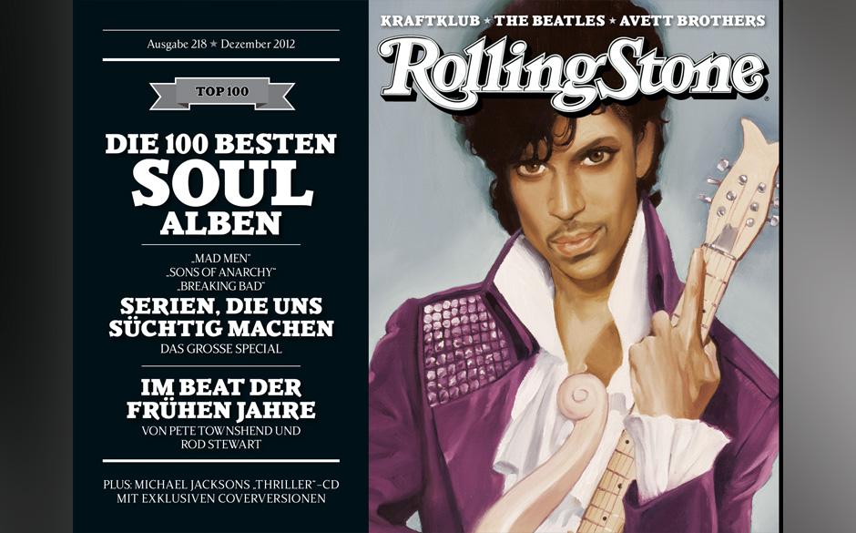 Diesmal gibt es gleich vier Cover. Hier ist Prince zu sehen.