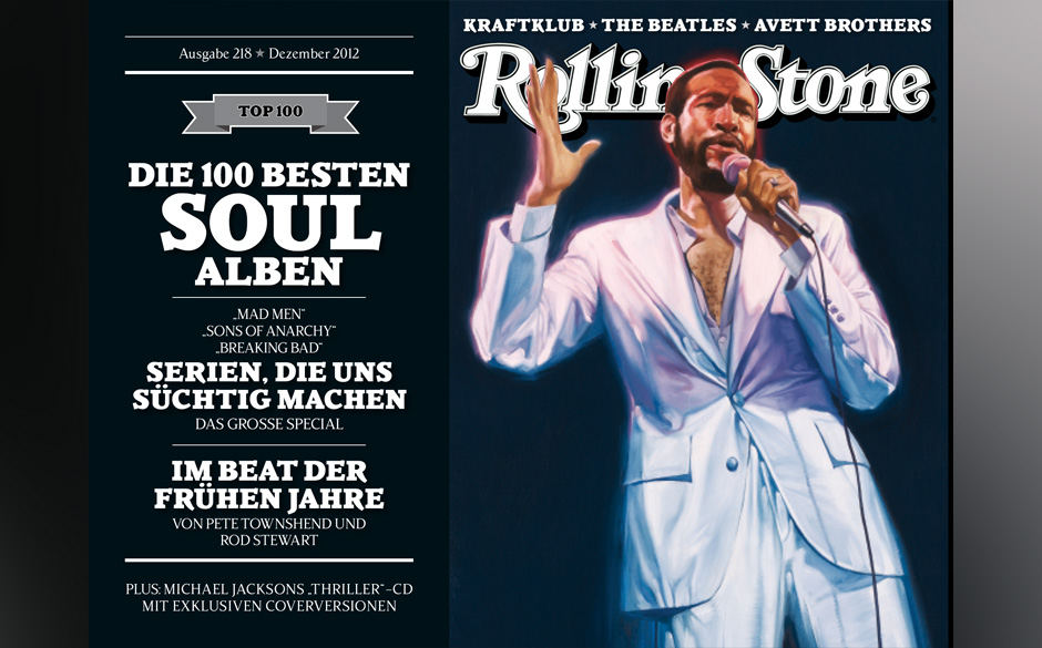 Cover 3 mit Marvin Gaye.