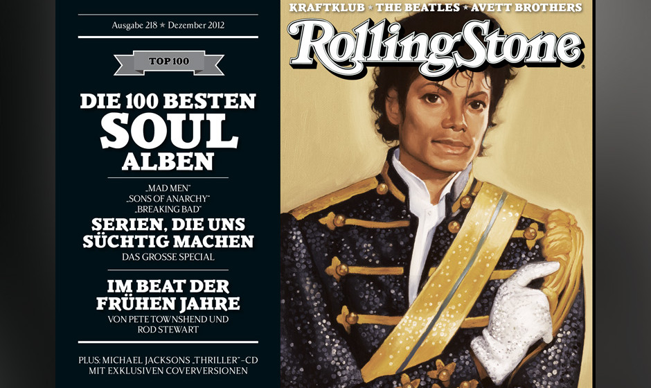 Cover 4 mit Michael Jackson.