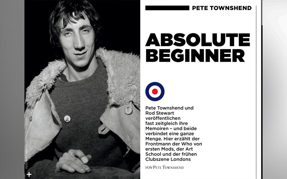 Pete Townshend gibt in seinen Memoiren Einblicke in sein Leben.
