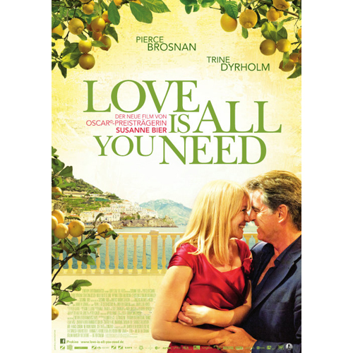 Filmplakat von 'Love Is All You Need'