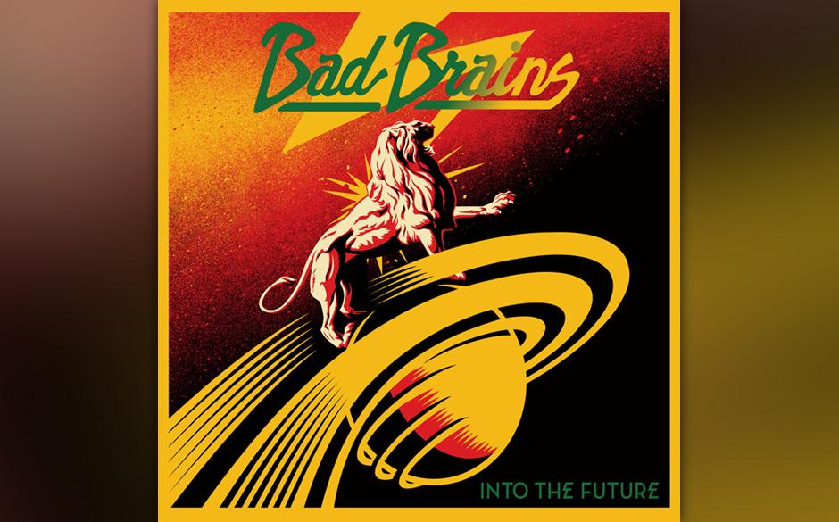 Bad Brains - 'Into The Future' (Megaforce/Essential/Soulfood) Das Album läuft im rdio-Player.