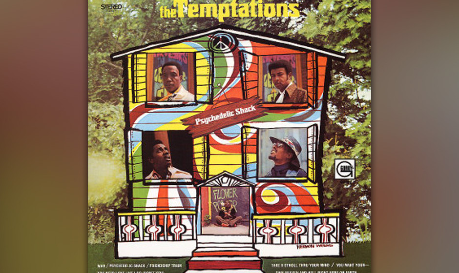 76. Psychedelic Shack The Temptations Motown, 1970 Knock, knock! –Who's there? – It's the Groove! Am Anfang  von 'Psy