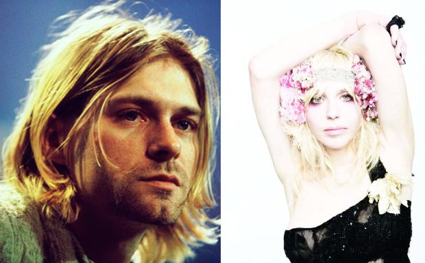 Kurt Cobain und Courtney Love