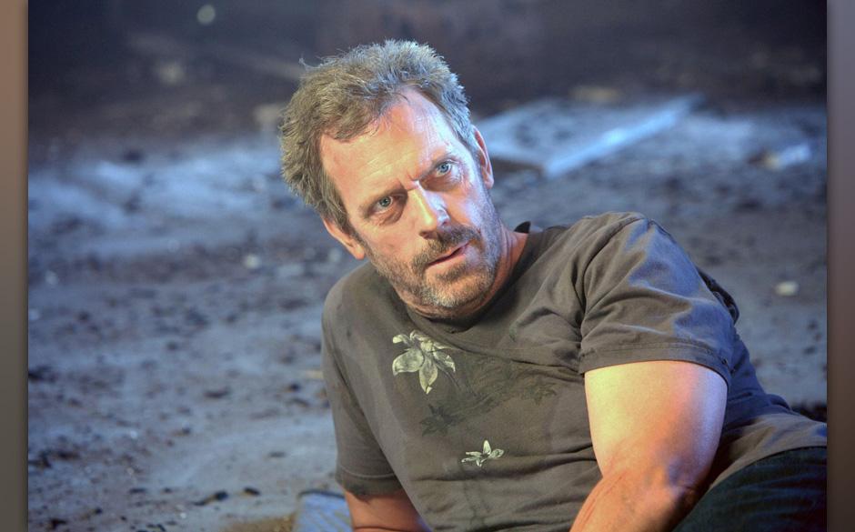 House (Hugh Laurie) sieht f¸r sich durch die wenig verlockenden Zukunftsaussichten keine andere Mˆglichkeit, als sein Leben