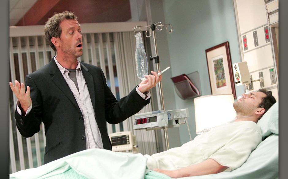 Nur ungern ¸bernimmt Dr. House (Hugh Laurie) den Fall des Profi-Radsportlers Jeff Forster (Kristoffer Polaha), weil er glaub