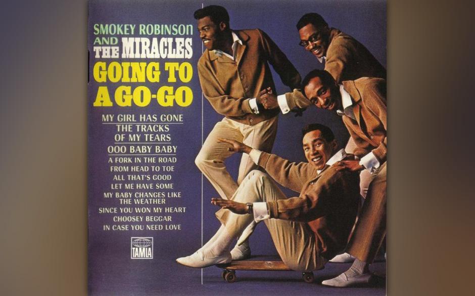 35. Smokey Robinson & The Miracles  - 'Going To A Go-Go' (Tamla-Motown, 1965) Mitte der 60er-Jahre hörte man Soul noch auf 4