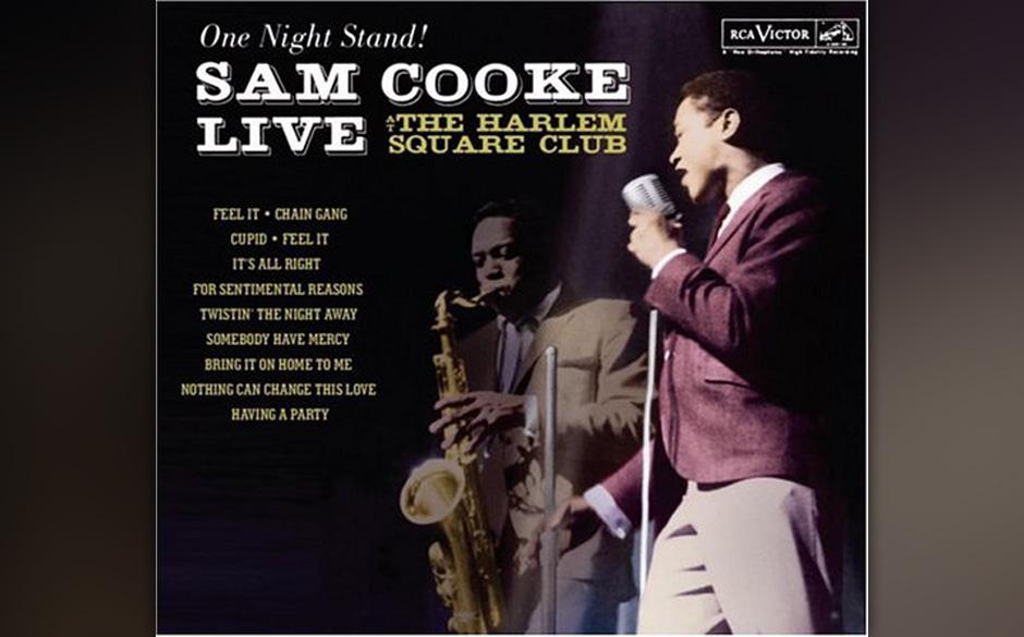 32. Sam Cooke - 'One Night Stand' (RCA, 1985) Die Tonqualität ist nicht die beste, und Sam Cookes Stimme hat nicht den zarte