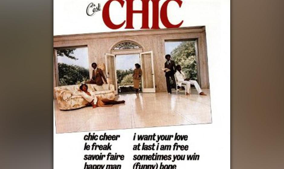 41. Chic - 'C'est Chic' (Atlantic, 1978) Während anderswo der Punk tobte, schufen Bernard Edwards und Nile Rogers in New Y