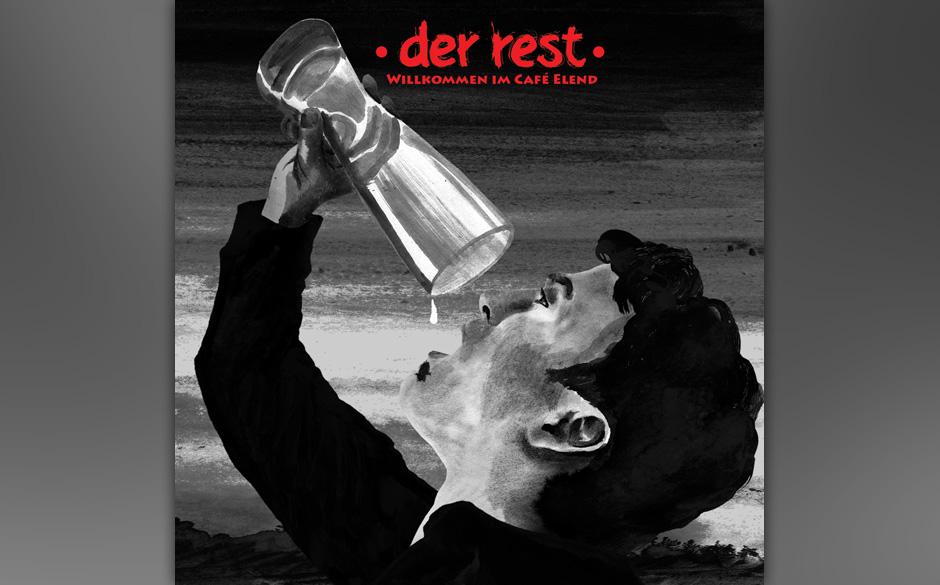 Der Rest - 'Willkommen im Cafe Elend' (Rent A Record Company/Rough Trade) Phil Taraz bewegt sich auch auf dem zweiten Album s