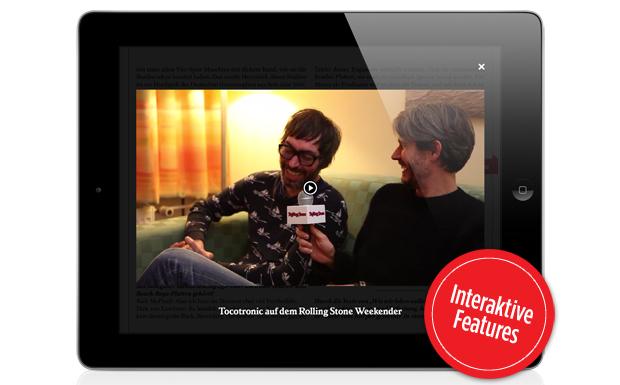 Dazu gibt es unser Video-Interview mit Dirk von Lowtzow und Rick McPhail auf dem Rolling Stone Weekender.