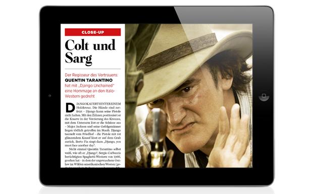 Der Regisseur unseres Vertrauens: Quentin Tarantino hat mit 'Django Unchained' eine Hommage an den Italo-Western gedreht.