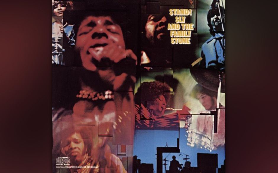 31. Sly & The Family Ston - 'Stand!' (Epic, 1969) Das letzte Hurra der 60er-Jahre. Bevor Sly Stone sich quasi im Alleingang z