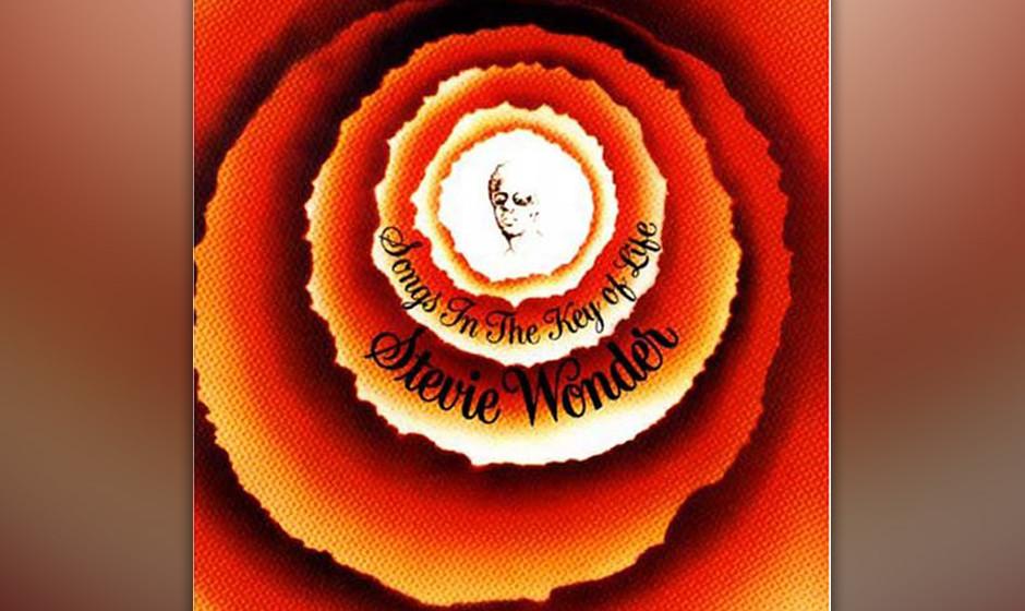 5. Stevie Wonder - 'Songs In The Key Of Life' (Motown, 1976) 1976 war die Zeit endlich reif für ein Opus mag-num von Stevie